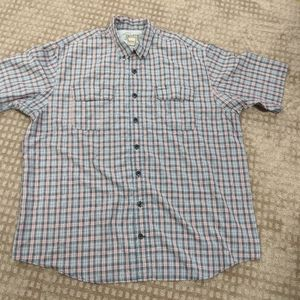 Men's Duluth Trading Company S/S Button Down Shirt